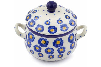 11 oz Soup Cup with Lid - P8824A | Polish Pottery House