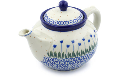 5 cup Tea Pot - 490AX | Polish Pottery House