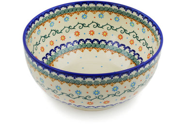 12 cup Serving Bowl - P9325A | Polish Pottery House