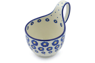 16 oz Soup Cup with Handle - P8824A | Polish Pottery House