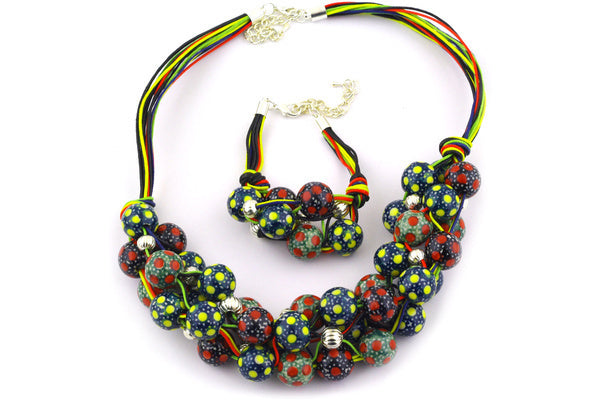 Bracelet and Necklace Combo - MIX | Polish Pottery House