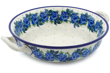 "8"" Round Baker with Handles - Bendikas Floral 