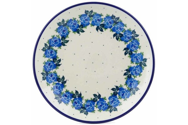 "9"" Luncheon Plate - Bendikas Floral 