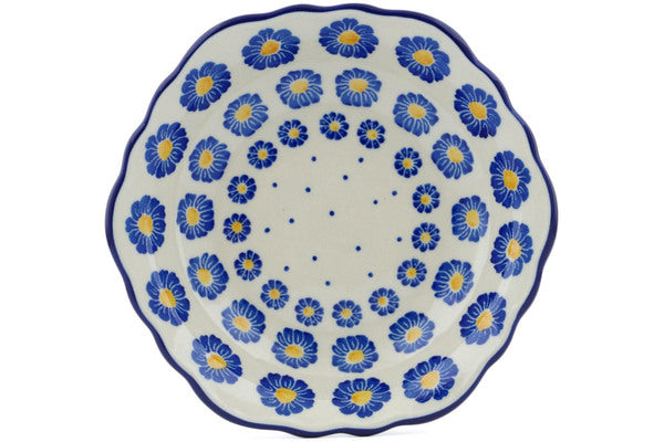 8 oz Scalloped Bowl - P8824A | Polish Pottery House