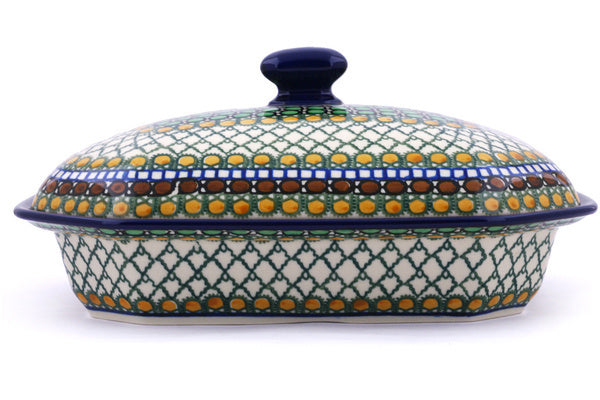 4 cup Covered Baker - U83 | Polish Pottery House