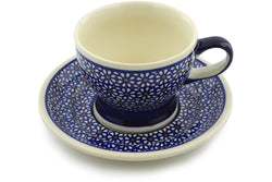 10 oz Cup with Saucer - 120 | Polish Pottery House