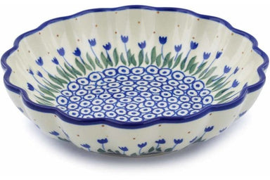 3 cup Scalloped Bowl - 490AX | Polish Pottery House