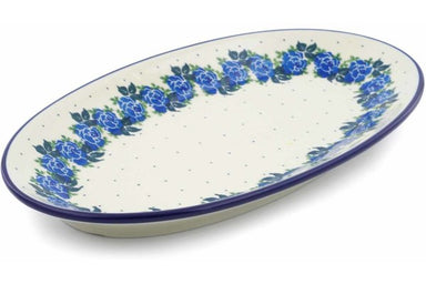 "14"" Platter - Bendikas Floral 