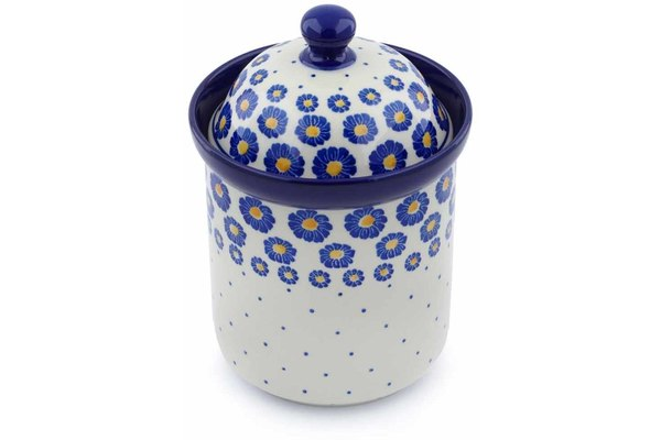 5 cup Canister - P8824A | Polish Pottery House