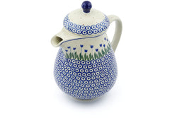 6 cup Pitcher with Lid - 490A | Polish Pottery House