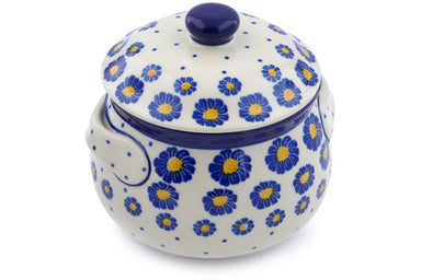3 cup Soup Cup with Lid - P8824A | Polish Pottery House