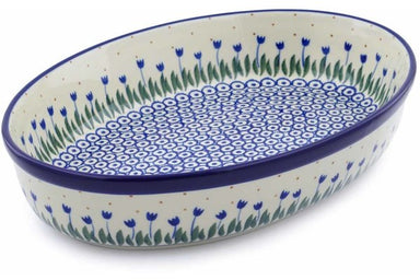 "12"" Oval Baker - 490AX 