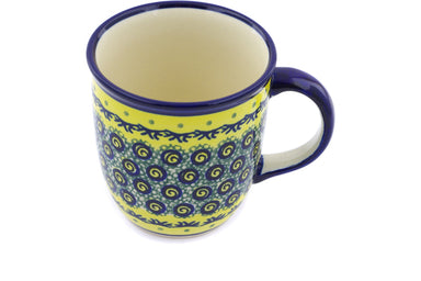 12 oz Mug - Jazz | Polish Pottery House