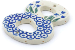"4"" #8 Hanging Number with hole - 490A 