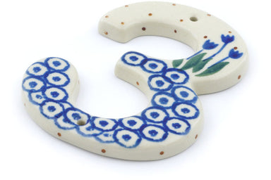 "4"" #3 Hanging Number with hole - 490A 