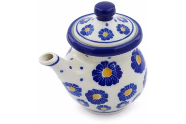 5 oz Creamer with Lid - P8824A | Polish Pottery House