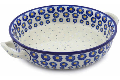 "10"" Round Baker with Handles - P8824A 