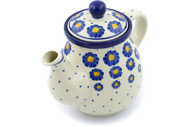 20 oz Tea Pot - P8824A | Polish Pottery House