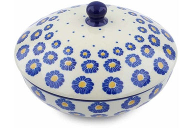 20 oz Jar with Lid - P8824A | Polish Pottery House
