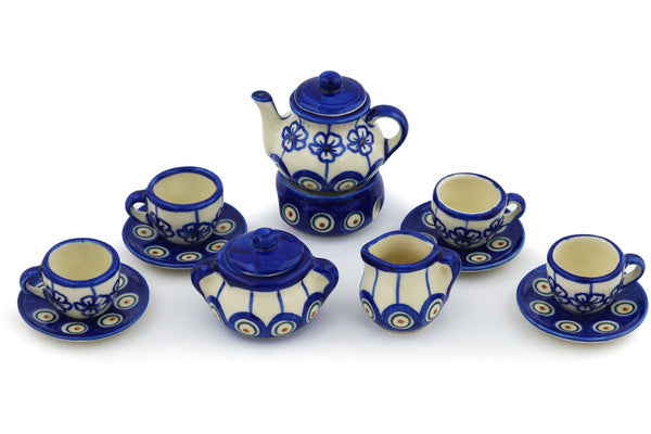 Miniature Tea Set - D106 | Polish Pottery House