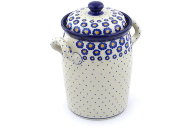 19 cup Canister - P8824A | Polish Pottery House