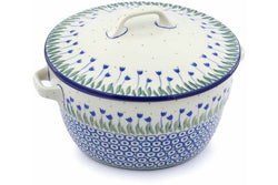 9 cup Covered Baker with Handles - 490AX | Polish Pottery House