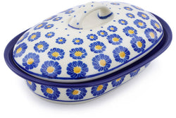 10 oz Covered Baker - P8824A | Polish Pottery House