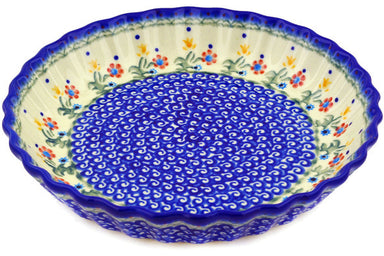 "10"" Fluted Pie Plate - D19 