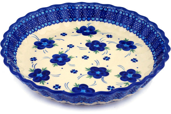 "10"" Fluted Pie Plate - D1 