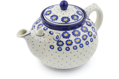 8 cup Tea Pot - P8824A | Polish Pottery House