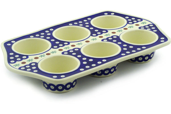 "14"" Muffin Pan - Old Poland 