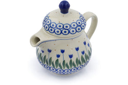 8 oz Creamer with Lid - 490A | Polish Pottery House