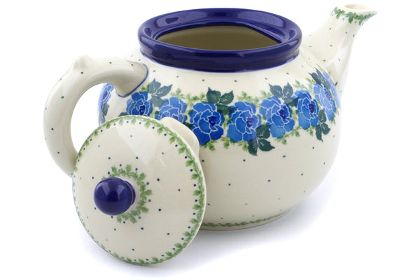 5 cup Tea Pot - Bendikas Floral | Polish Pottery House