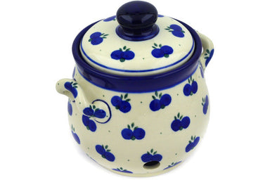 4 cup Garlic and Onion Jar - 67AX | Polish Pottery House