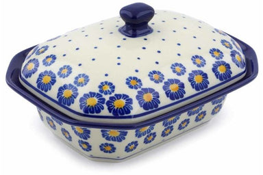 13 oz Covered Baker - P8824A | Polish Pottery House