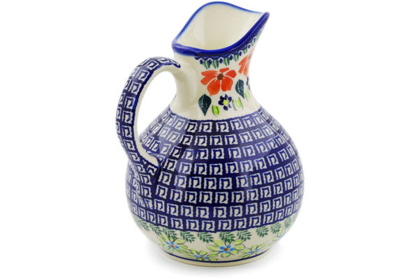6 cup Pitcher - Athens Prairie | Polish Pottery House