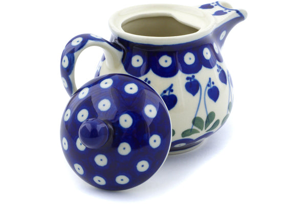 8 oz Creamer with Lid - 377O | Polish Pottery House