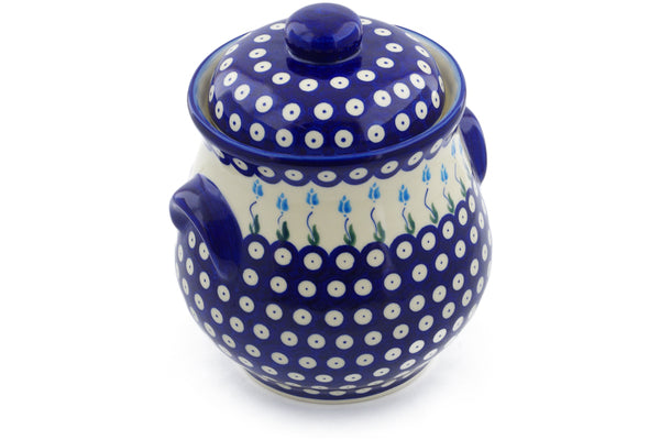 13 cup Canister - D107 | Polish Pottery House