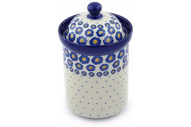 6 cup Canister - P8824A | Polish Pottery House