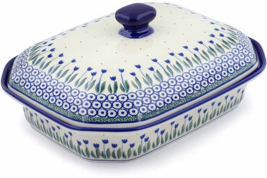 "12"" Covered Baker - 490AX 