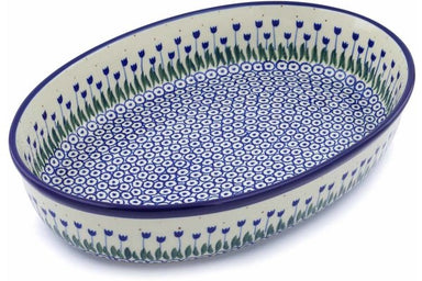 "14"" Oval Baker - 490AX 