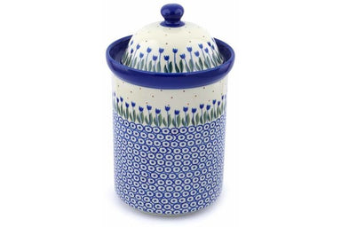 8 cup Canister - 490AX | Polish Pottery House