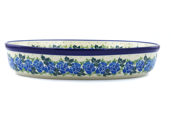 "12"" Oval Baker - Bendikas Floral 