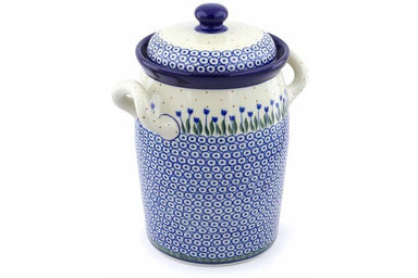 19 cup Canister - 490AX | Polish Pottery House