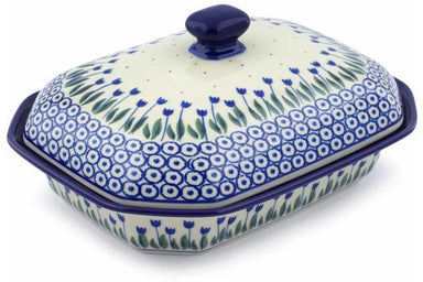 4 cup Covered Baker - 490AX | Polish Pottery House