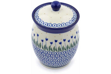 4 cup Canister - 490AX | Polish Pottery House