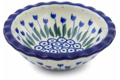 3 oz Scalloped Bowl - 490AX | Polish Pottery House