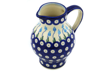23 oz Pitcher - D107 | Polish Pottery House