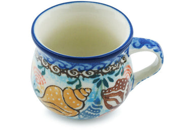 2 oz Espresso Cup - Sea Shell | Polish Pottery House