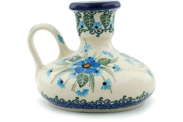 "4"" Candle Holder - Empire Blue 